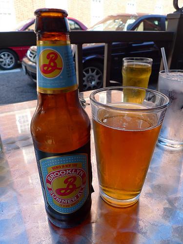 brooklyn summer ale, ale, beer, brooklyn