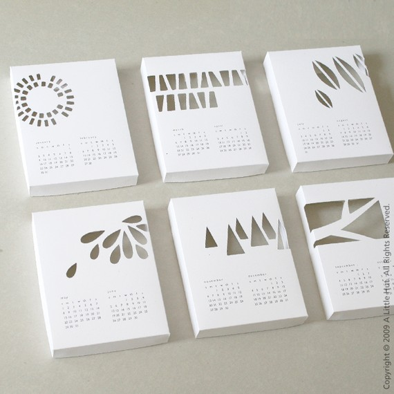 Handmade Calendar Design : Handmade calendars for « what no mints