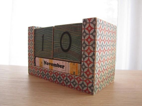 Handmade Calendar With Photos : Handmade calendars for « what no mints
