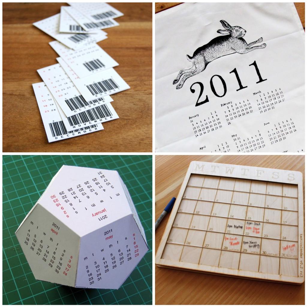 Handmade Calendar Design : Handmade calendars for « what no mints