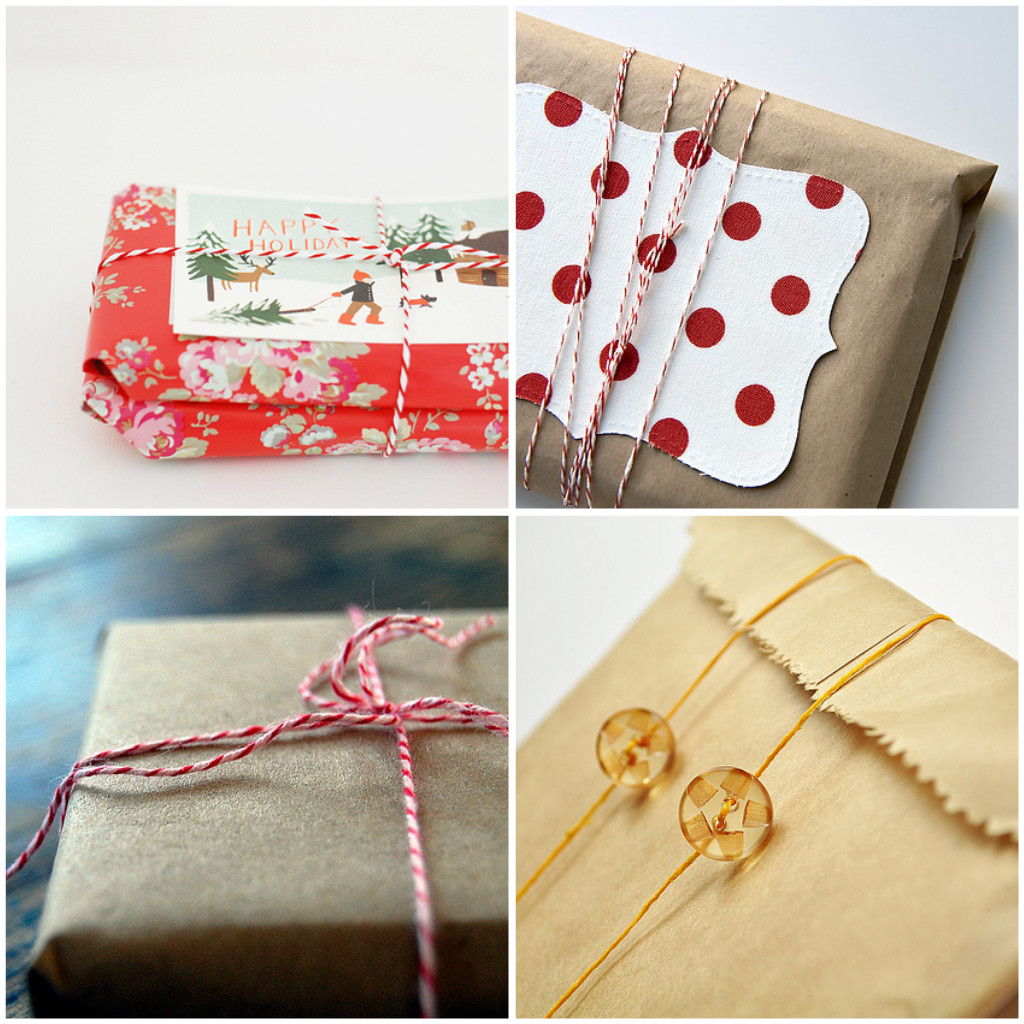 holiday gift wrap inspiration what no mints