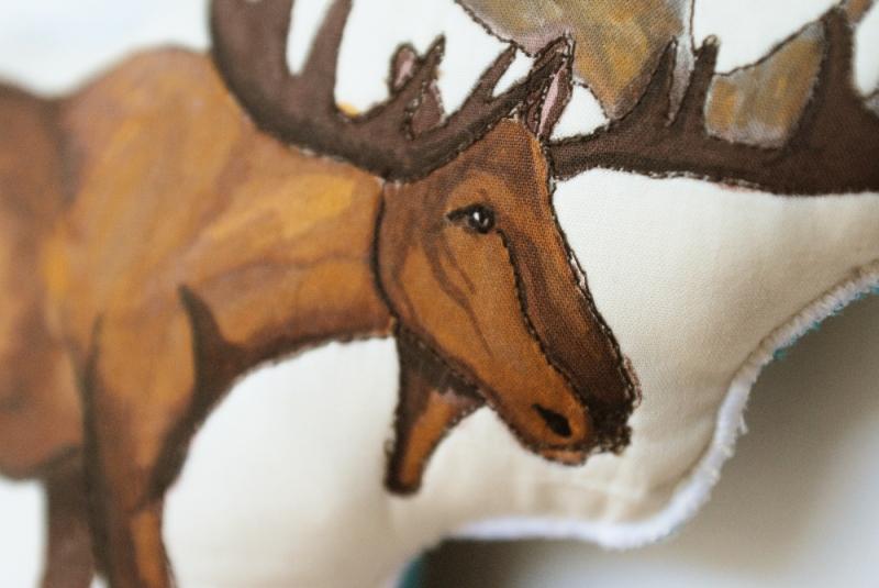 Hairy moose